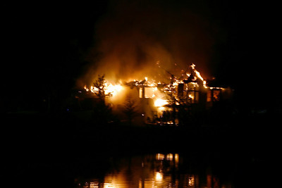 20070511 Martin House Fire