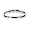 Art Deco Diamond & Onyx Bracelet 0