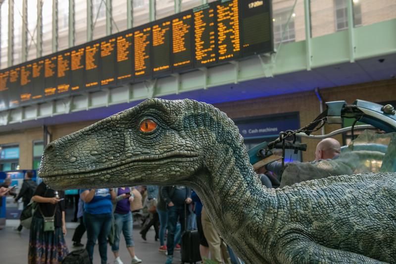 Jurassic World at King's Cross