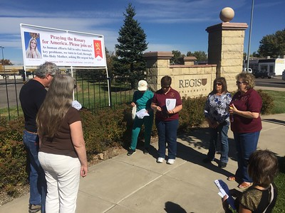 20161015 Public Rosary Rally & Alpha Sigma Nu Cemetery Tour