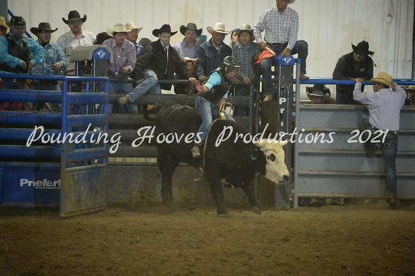Ladies Bull Riding