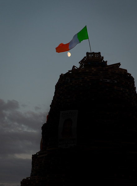 Sandy Row bonfire at dusk.jpg