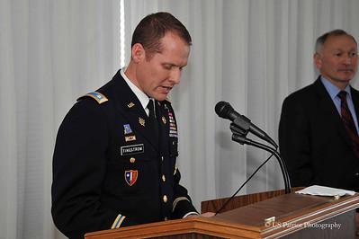 LTC Beveridge Promotion Ceremony, 5 APR 13