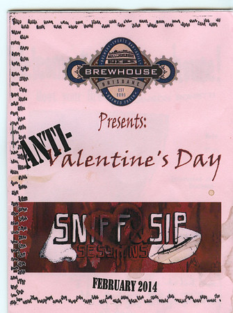 Anti-Valentine's Day Sniff & Sip