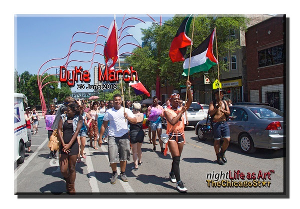 25 June 2016 Dyke March