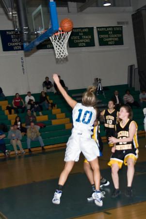 Churchill Girls Basketball Playoffs 080229