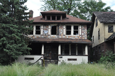 Highland Park - Colorado Street house fire