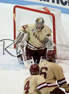 Parker Milner January 19, 2013 at Northeastern University. Boston College wins 9-3.