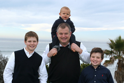 Hren Family Portrait, Solana Beach, CA