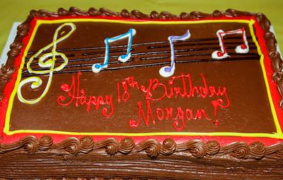 Morgan's 80's party