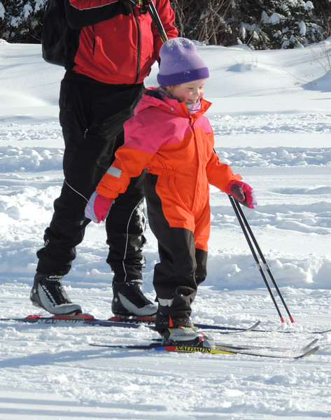 Skiers come in all sizes