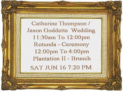 Catherine and Jason Wedding 2
