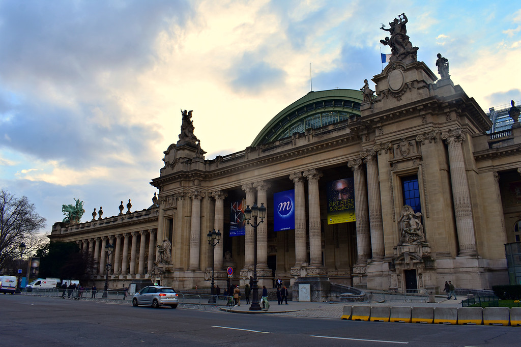 Grand Palais in Paris, France