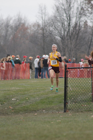 Women's Finish Gallery 1 - 2013 NCAA III XC Great Lakes Regional