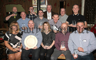 CAMLOUGH Cycling Club winners at the club's annual awards night at Fitzpatrick's on Friday evening.