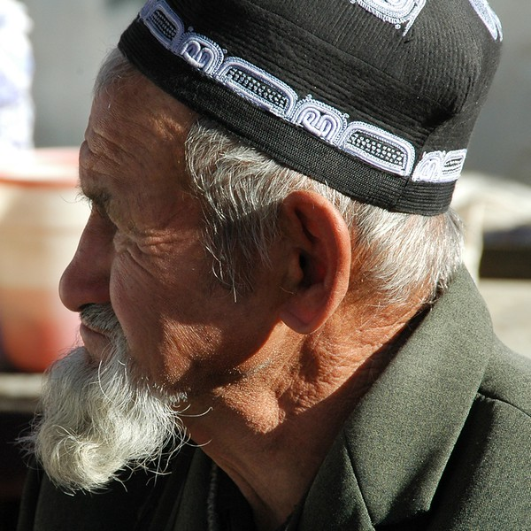 Old Kyrgyz Man - Osh, Kyrgyzstan
