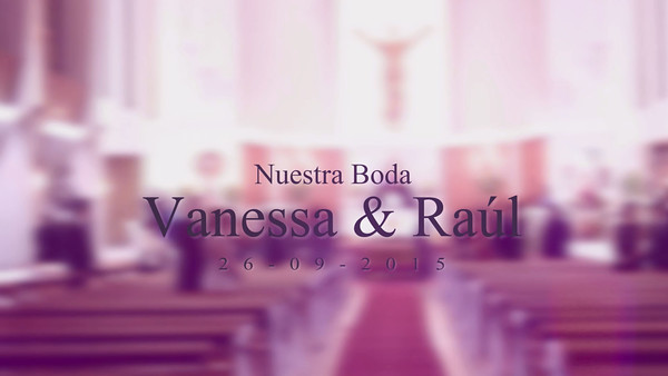 Boda Vanessa &  Raúl