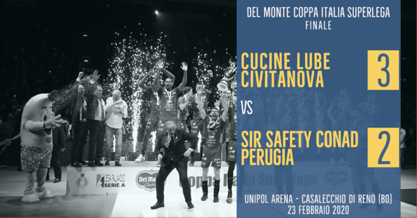 Del Monte® Coppa Italia SuperLega - Finale 2019/2020