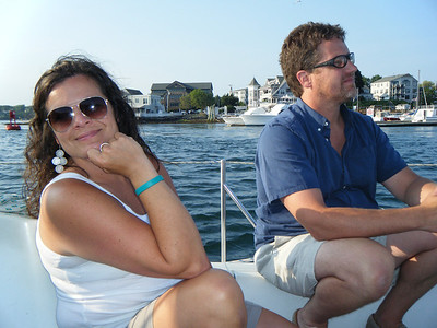 Sailing w/ Sara, Andy, Diane, Tim and Scott