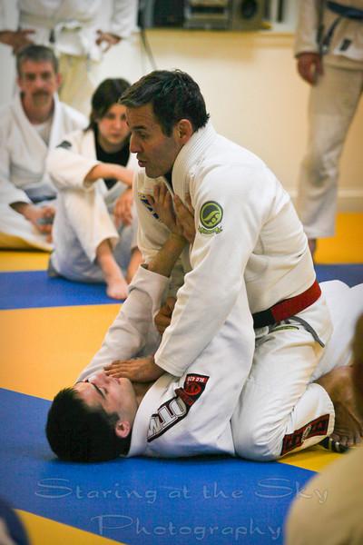 Pedro Sauer Academy Jiu Jitsu Belt Test