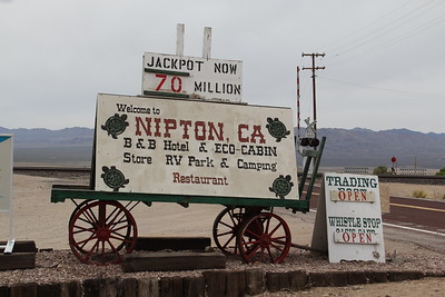 Nipton ,CA  Visit      ( Just south   of Ivanpah Dry Lake)