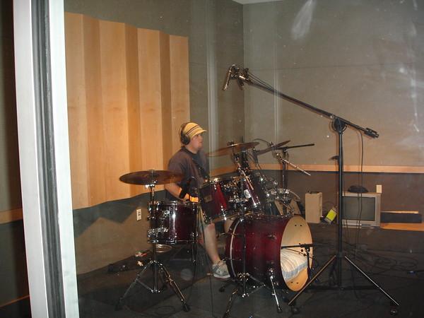 2005-11-13 High Tide Recording in the Studio