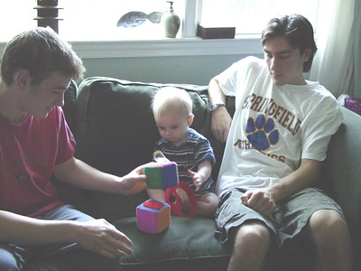 Cousin Visit - June 14, 2003