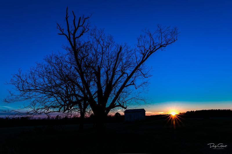 Farmer's Sunset
