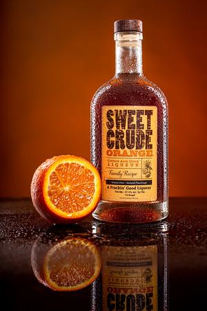 Crude Spirits Sweet Crude Orange