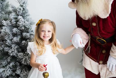 Colton and Paisley Santa Story 2018