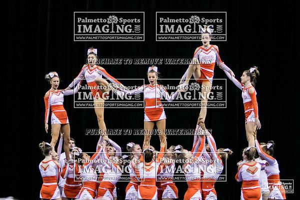 Mauldin High School State Cheer 2018