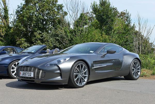 Aston Martin's in Jersey
