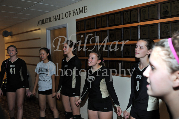 Berks Catholic vs Fleetwood Varsity Senior Night 2012 - 2013