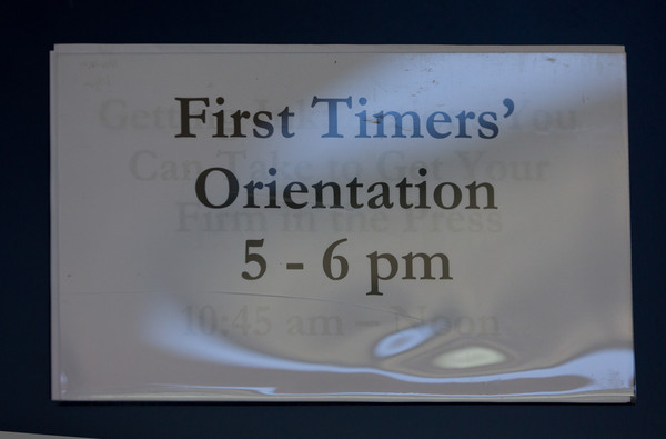 First Timers Orientation