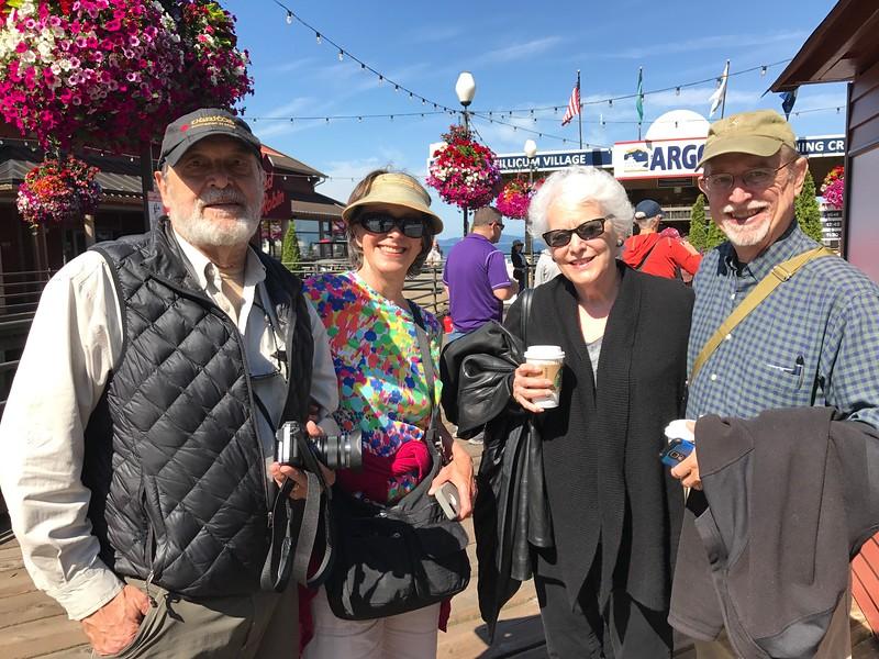 Michael Butler, Robin Ferry, Judy Zykofsky Jones, Pat Jones