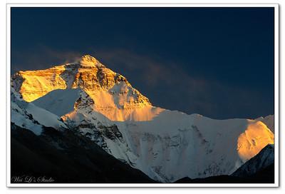 2008 China Trip. Mt. Everest(珠峰)