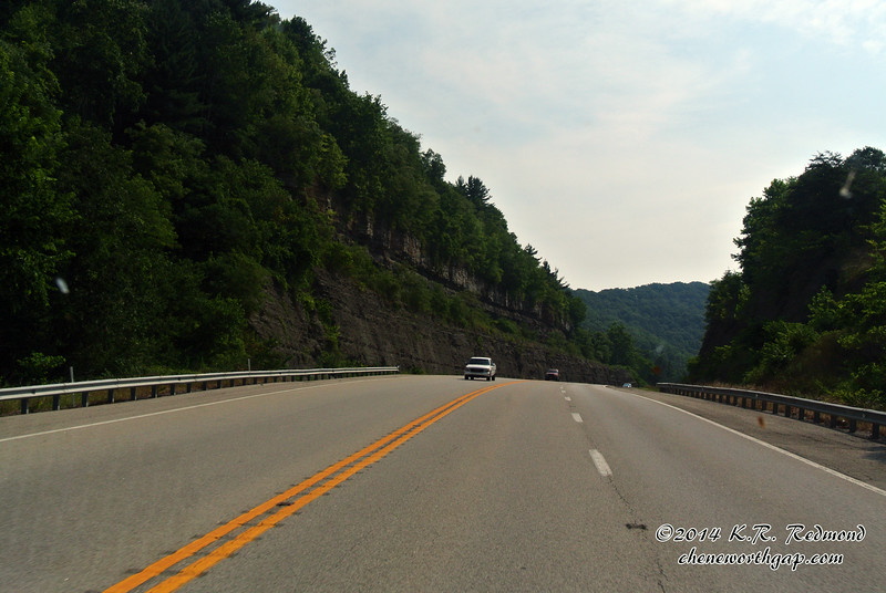 On the Parkway in Kentucky
