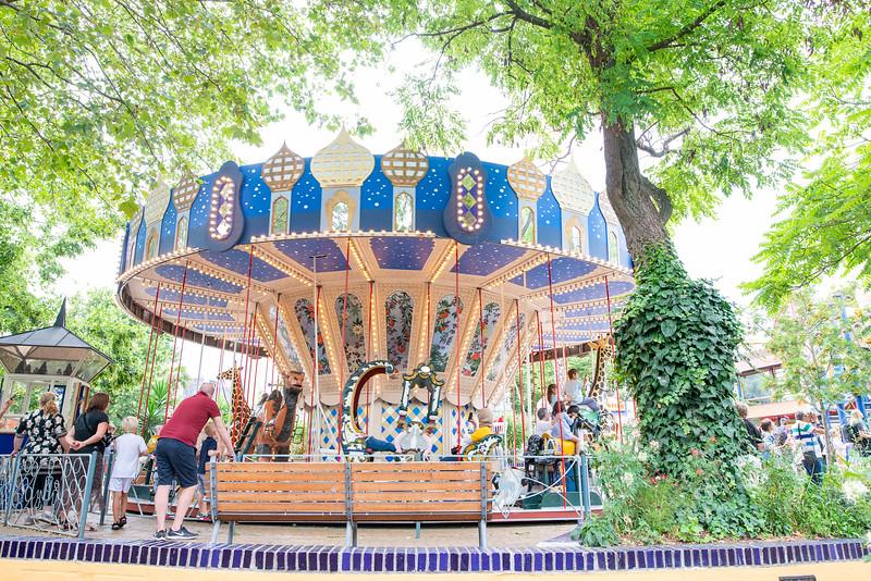Tivoli Gardens - Merry-Go-Round