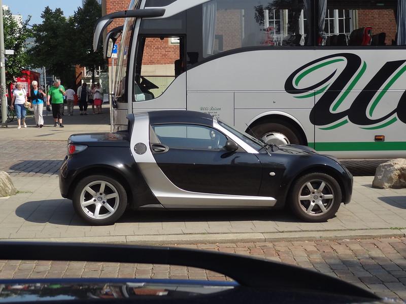 Sporty Smart Car, Hamburg, Germany