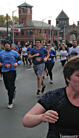 Inaugural Cambridge Half-Marathon (November 13, 2016)