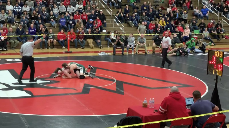 Carter versus Hanson sectional final Wisconsin Rapids 2020