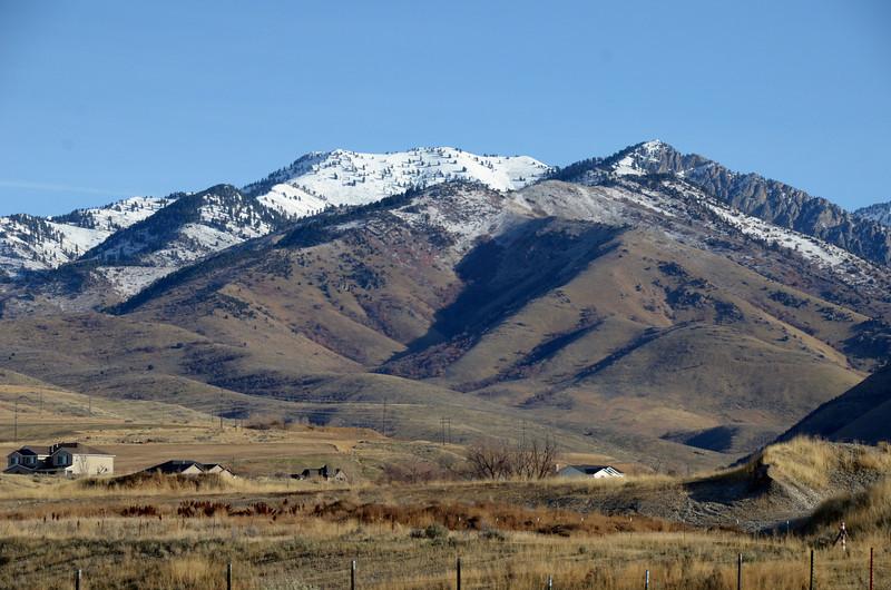 Mountains near Smithfield Utah, Thanksgiving Day 2012
