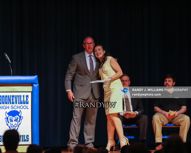 Booneville School District - Student of the Month Ceremony