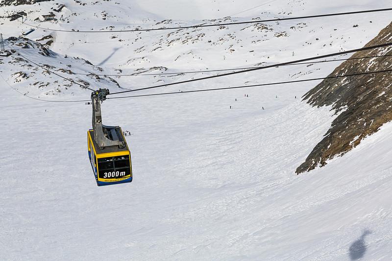 Cable Car On The Kitzsteinhorn, Kaprun, Austria