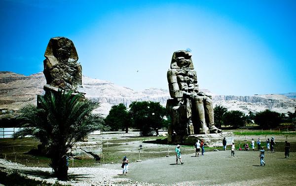 Collossi of Memnon 2011