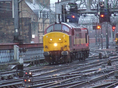 EWS Class 37406 on working 5S26, 22nd February 2007
