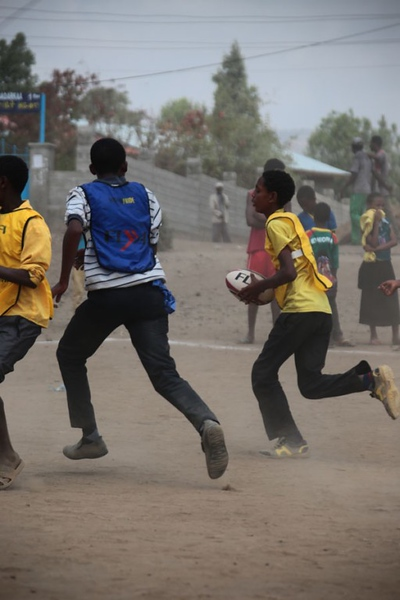 Rugby becomes the talk of the Adama town