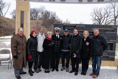 Chaska Veterans Park Dedication