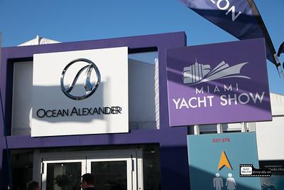 Ocean Alexander Boat Show Miami 2018