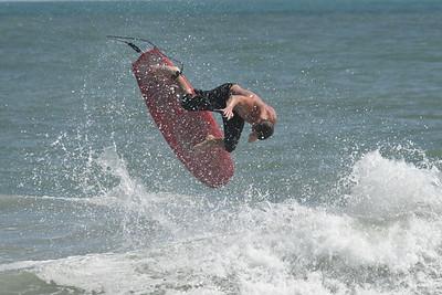Hurricane Teddy Surfing Florida